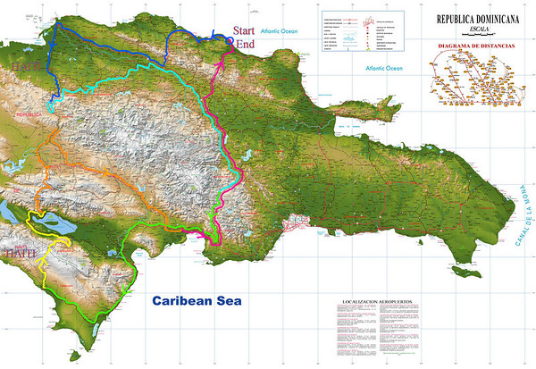 The Border With Haiti Motorcycle Adventure